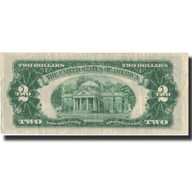 Banknote, United States, Two Dollars, 1953, 1953, KM:1623, AU(50-53)
