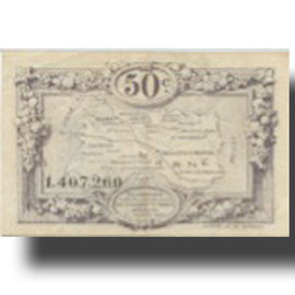France, Reims, 50 Centimes, 1926, Chambre de Commerce, EF(40-45)