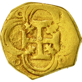 Coin, Spain, 2 Escudos, Seville, EF(40-45), Gold