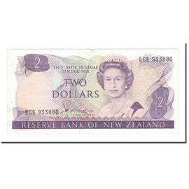 Banknote, New Zealand, 2 Dollars, KM:170b, VF(30-35)