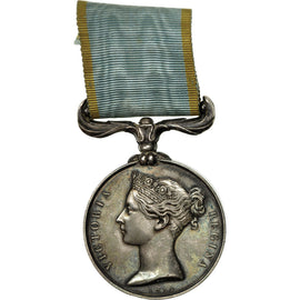 United Kingdom , Guerre de Crimée, Reine Victoria, Medal, 1854, Excellent