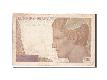 Banknote, France, 300 Francs, 300 F 1938-1939, 1939, Undated (1939), VF(20-25)