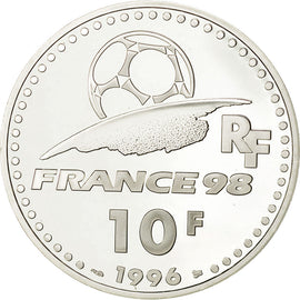 Coin, France, 10 Francs, 1996, MS(65-70), Silver, KM:1144, Gadoury:C167