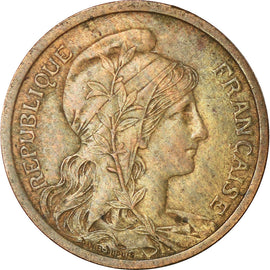 Coin, France, Dupuis, 2 Centimes, 1899, Paris, VF(30-35), Bronze, KM:841