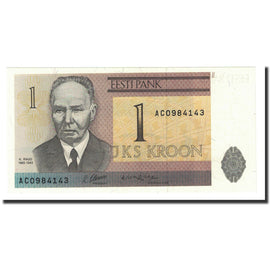 Banknote, Estonia, 1 Kroon, 1992, KM:69a, UNC(65-70)