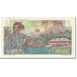 Banknote, French Equatorial Africa, 5 Francs, 1947, Undated (1947), KM:20b