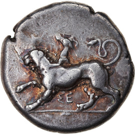Coin, Sikyonia, Sikyon, Stater, 431-400 BC, EF(40-45), Silver
