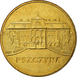 Coin, Poland, 2 Zlote, 2006, Warsaw, MS(60-62), Brass, KM:549