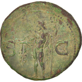Agrippa, As, 37-41, Roma, EF(40-45), Copper, RIC:58