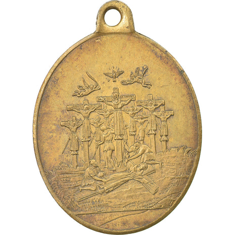 Vatican, Medal, Pius IX, Beatification of the 26 Martyrs of Nagasaki, 1862