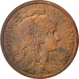 Coin, France, Dupuis, 2 Centimes, 1901, Paris, AU(50-53), Bronze, KM:841