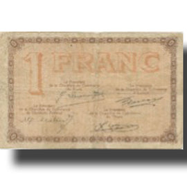 France, Clermont-Ferrand, 1 Franc, 1925, Chambre de Commerce, VF(20-25)