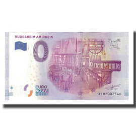 Germany, Tourist Banknote - 0 Euro, Germany - Rüdesheim Am Rhein - Drosselgasse