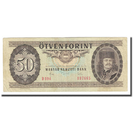 Banknote, Hungary, 50 Forint, 1983, 1983-11-10, KM:170f, EF(40-45)