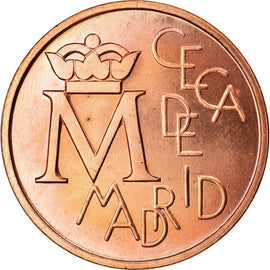 Spain, Medal, Ceca de Madrid, Bodas de Plata, 1987, Proof, MS(65-70), Copper