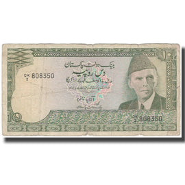 Banknote, Pakistan, 10 Rupees, KM:34, F(12-15)