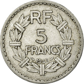 Coin, France, 5 Francs, 1945, Paris, VF(30-35), Aluminum, KM:PE311, Gadoury:766