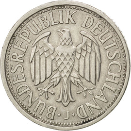 Coin, GERMANY - FEDERAL REPUBLIC, 2 Mark, 1951, Hambourg, AU(50-53)