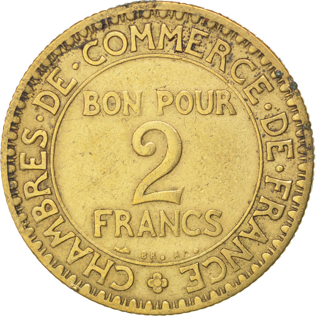 33733 france chambre de commerce 2 francs 1920 for Chambre commerce france
