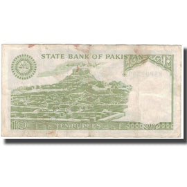 Banknote, Pakistan, 10 Rupees, KM:39, VF(30-35)
