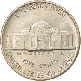 Coin, United States, Jefferson Nickel, 5 Cents, 1978, U.S. Mint, Denver