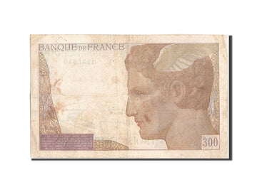 Banknote, France, 300 Francs, 300 F 1938-1939, 1939, 1939-02-09, VF(30-35)