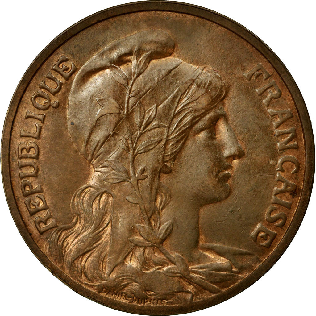 Coin, France, Dupuis, 10 Centimes, 1898, Paris, MS(60-62), Bronze, Gadoury:277