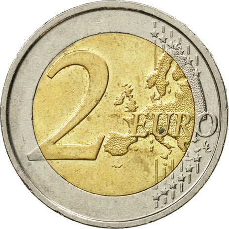 Belgium, 2 Euro, Queen Elisabeth, 2012, MS(60-62), Bi-Metallic
