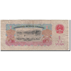 Banknote, China, 1 Yüan, 1960, KM:874b, F(12-15)