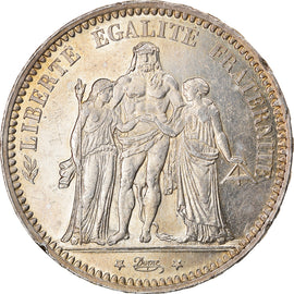 Coin, France, Hercule, 5 Francs, 1873, Paris, AU(55-58), Silver, KM:820.1