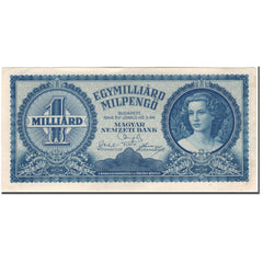 Banknote, Hungary, 1 Milliard Milpengö, 1946, KM:131, UNC(60-62)