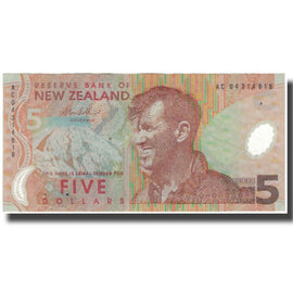 Banknote, New Zealand, 5 Dollars, KM:CS185b, EF(40-45)