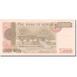 Banknote, South Korea, 5000 Won, 2000-2002, 2002, KM:51, UNC(60-62)