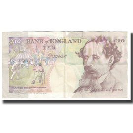 Banknote, Great Britain, 10 Pounds, 1993, KM:383a, EF(40-45)