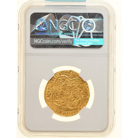 Coin, France, Franc à cheval, NGC, MS61, MS(60-62), Gold, graded, Duplessy:294