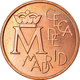 Spain, Medal, Ceca de Madrid, Bodas de Plata, 1987, Proof, MS(64), Copper