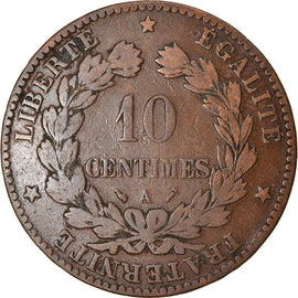 Coin, France, Cérès, 10 Centimes, 1895, Paris, VF(30-35), Bronze, KM:815.1