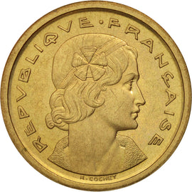 Coin, France, 20 Centimes, 1961, MS(63), Bronze-Aluminium, Gadoury:326