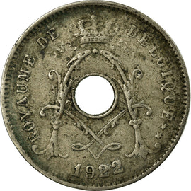 Coin, Belgium, 5 Centimes, 1922, Paris, VF(20-25), Copper-nickel, KM:66