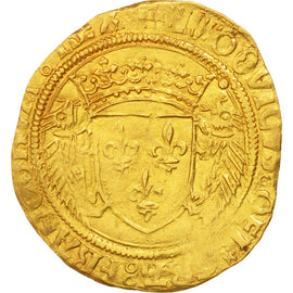 Coin, France, Ecu d'or, Montpellier, AU(50-53), Gold, Duplessy:655