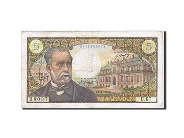 Banknote, France, 5 Francs, 1966, 1969-02-06, VF(20-25), KM:146b