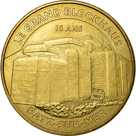 France, Token, Touristic token, Batz-sur-Mer - le grand Blockhaus n°2, Arts &
