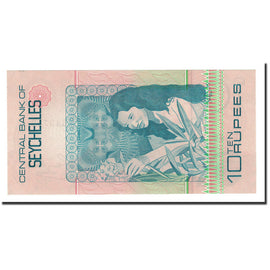 Banknote, Seychelles, 10 Rupees, 1983, Undated, KM:28a, UNC(65-70)
