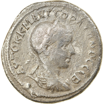 Coin, Gordian III, Tetradrachm, Antioch, VF(30-35), Billon, Prieur:282