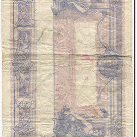France, 1000 Francs, Bleu et Rose, 1889, 1919-07-19, VG(8-10) Fay:36.34, KM:67h