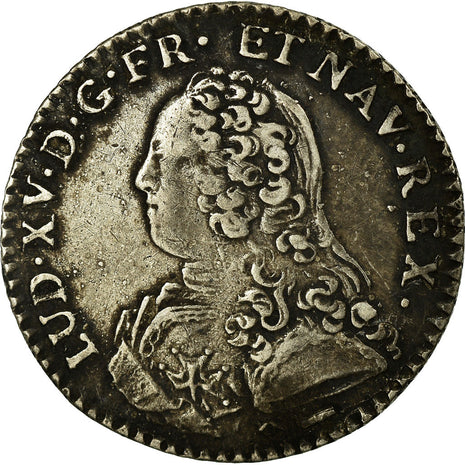Coin, France, 1/10 Ecu, 1730, Lille, EF(40-45), Silver, Gadoury:291