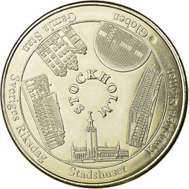 Sweden, Token, Touristic token, Stockholm, Arts & Culture, Collectors Coin