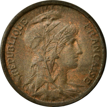 Coin, France, Dupuis, Centime, 1920, Paris, AU(55-58), Bronze, Gadoury:90