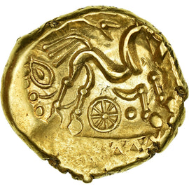 Coin, Suessiones, Stater, MS(60-62), Gold, Delestrée:169-170
