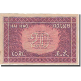 Banknote, FRENCH INDO-CHINA, 20 Cents, Undated (1942), KM:90, UNC(65-70)